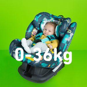 Autokrēsli 0-36 kg