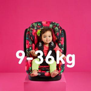 Autokrēsli 9-36 kg